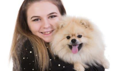 Pomeranian dog photoshoot by Keltic Rose Photography