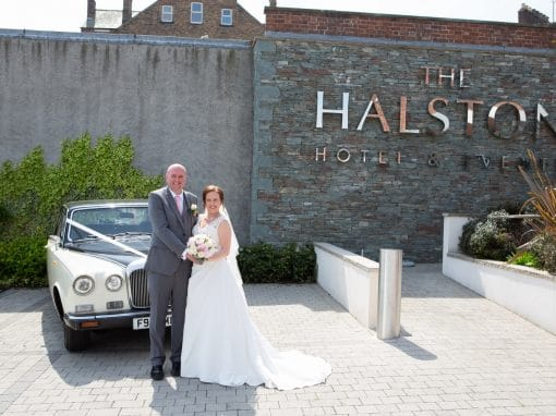 A sunny royal wedding day at The Halston, Carlisle