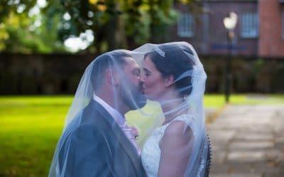 Beautiful Wreay church wedding then Tithe Barn, Carlisle Reception