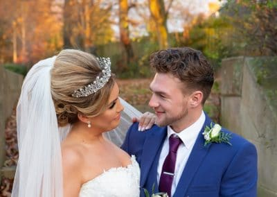 Carlisle Registry Office hosts a beautiful autumnal wedding