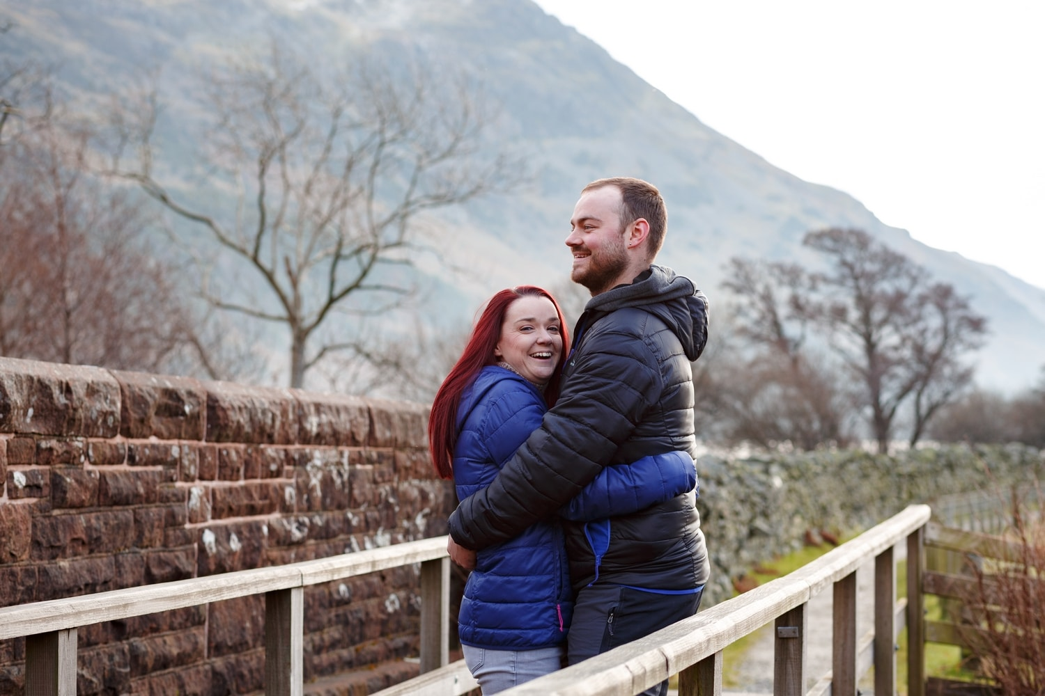 A lake district pre-wedding photo shoot