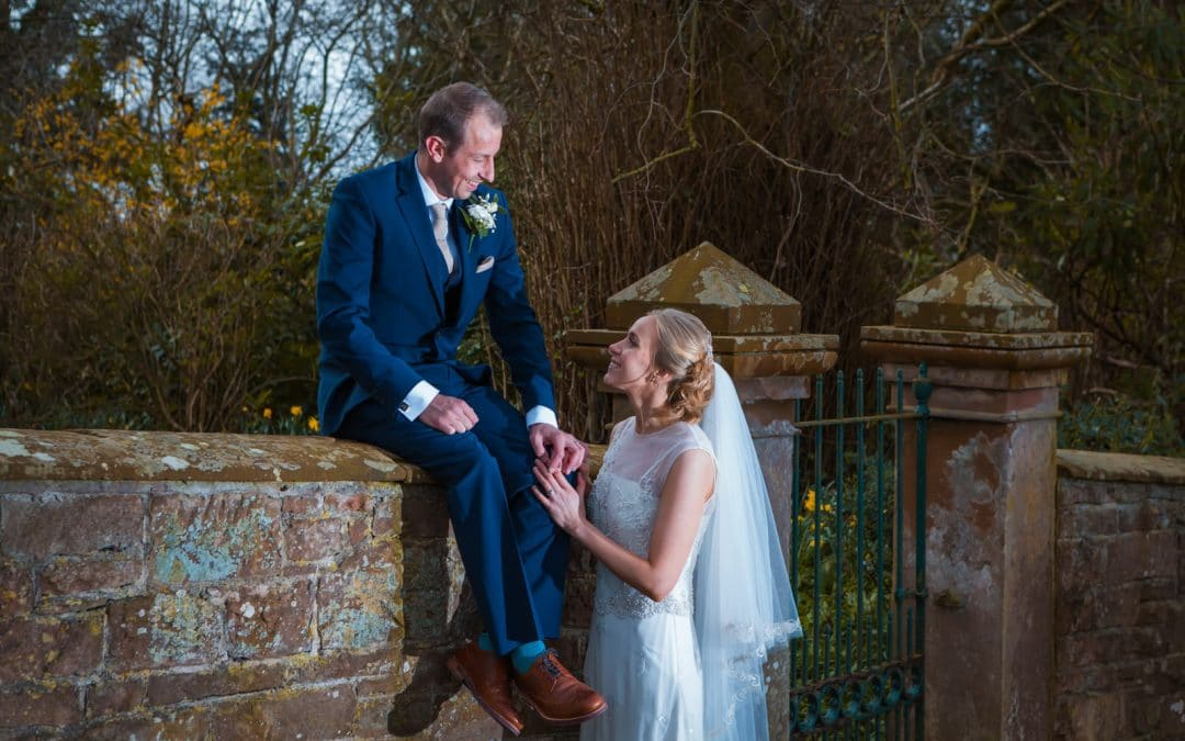 Blaithwaite House Outdoor Spring Wedding