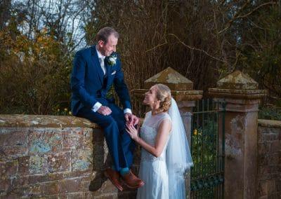 Blaithwaite House Outdoor Spring Wedding