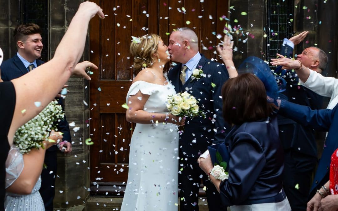Emotional Wedding Day at Carlisle Registry Office and Shepherds Inn restaurant Carlisle