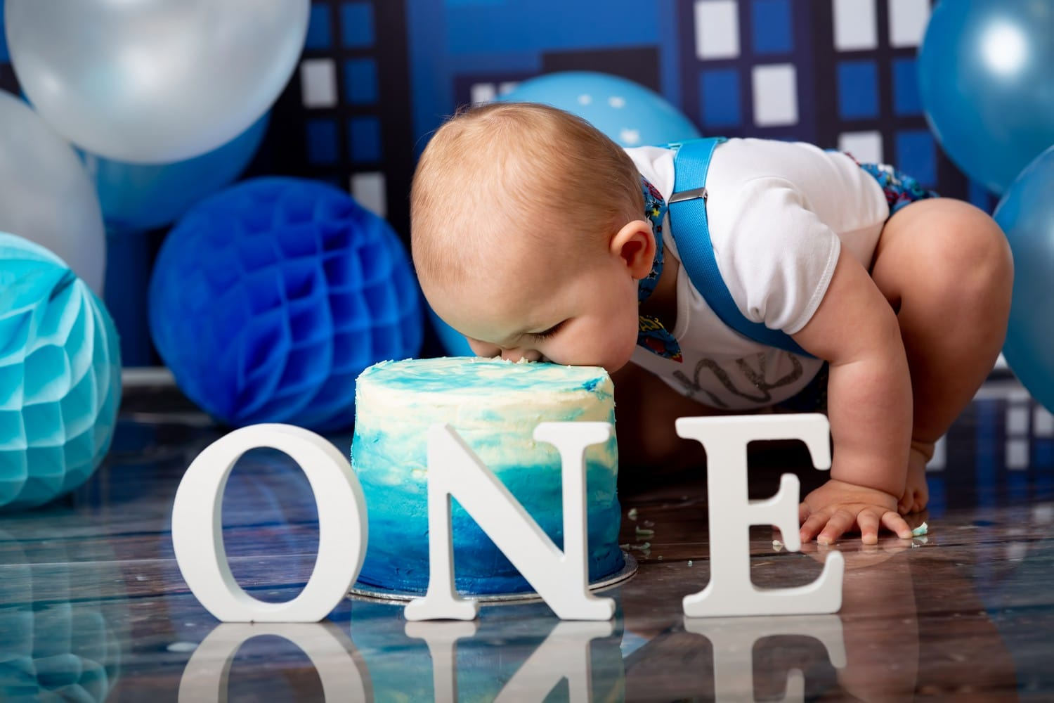Wondrous Boys First Birthday Cake Smash Keltic Rose Photography Funny Birthday Cards Online Alyptdamsfinfo