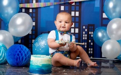 Boys First Birthday Cake Smash