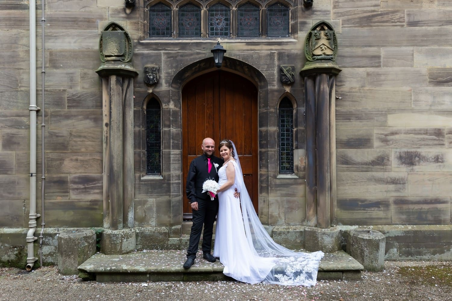 Bride and Groom at Carlisle Registry Office