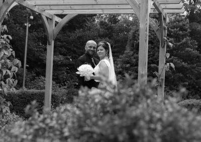 Bride and Groom at Carlisle Registry Office