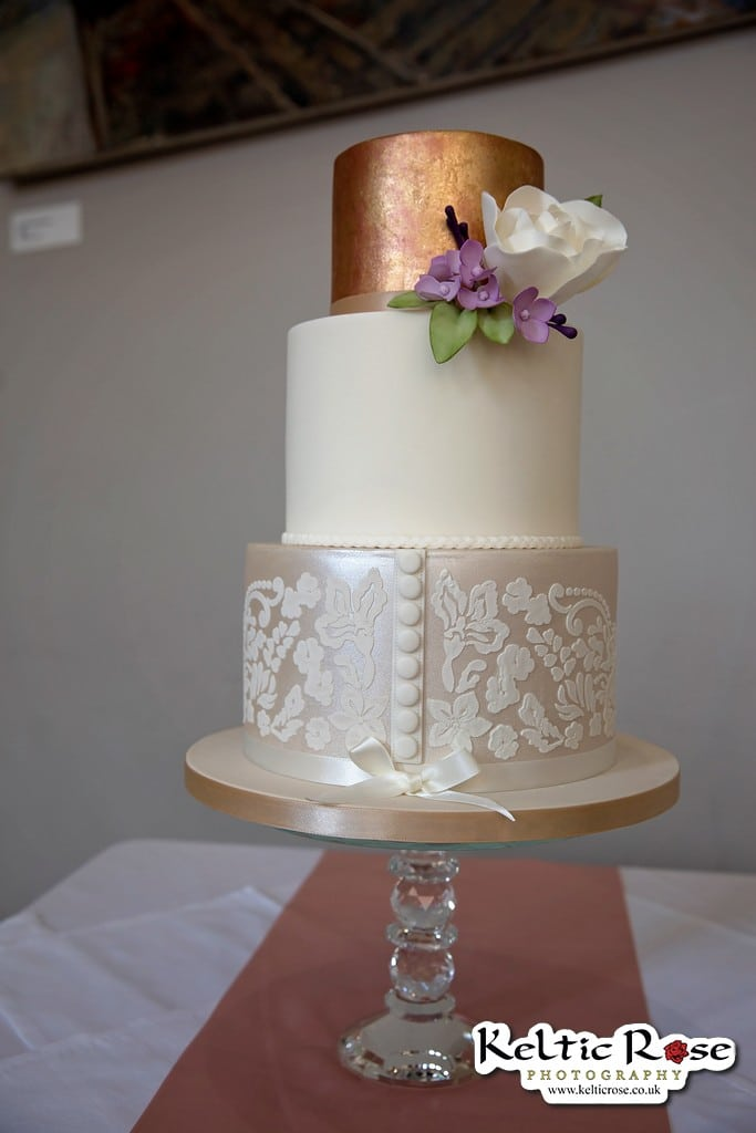 Wedding Cake by Sara Ruddick Cakes at Tullie House Museum and Art Gallery