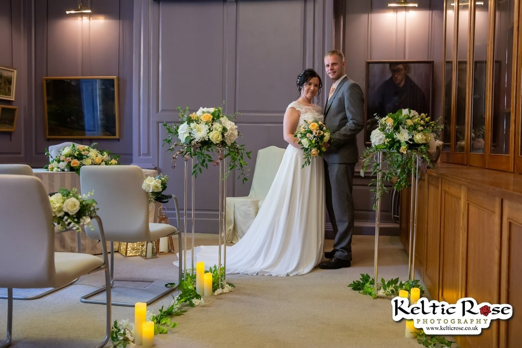 Wedding Photo by Keltic Rose Photography at Tullie House Museum and Art Gallery