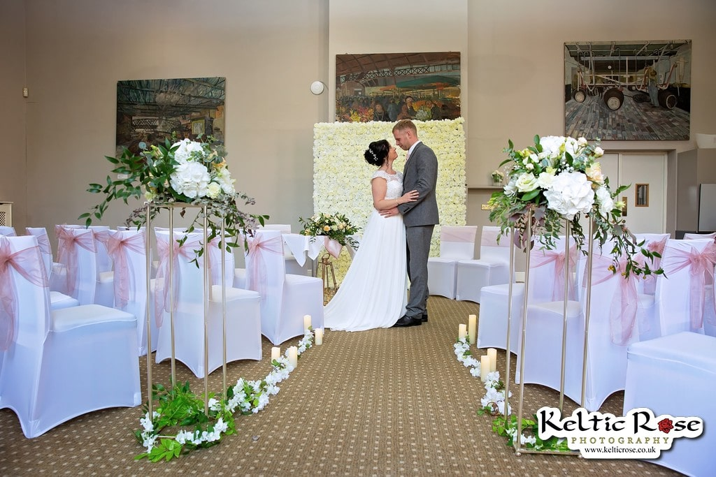Wedding Photography by Keltic Rose Photography at Tullie House Museum and Art Gallery