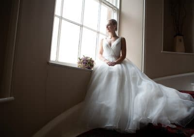 Wedding Dress Catalogue Photo Session at Blaithwaite Hall near Carlisle