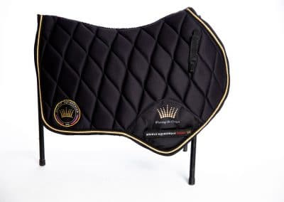 product photos of horse saddlebags from Solway Equestrian